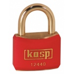 k12540blad Black Coloured Brass Padlock