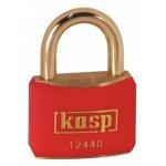 k12540blad Black Coloured Brass Padlock