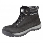 5140 Black Safety Work Boots Steel Midsole