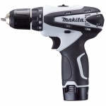 10.8v cordless DF330 white drill driver (body only)