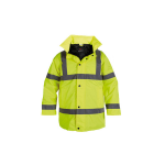 HJ03YL Hi Vis Jacket Yellow