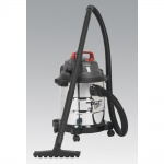 PC195SD 20 Litre Wet and Dry Vacuum Cleaner stainless steel 1250 watt 240V