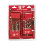 4932352374 HSSG 19 piece thunderweb metal drill bit set