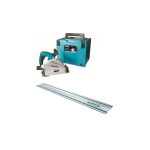 SP6000K1 plunge saw with 1 guide rail 110v and 240v