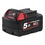 M18B5 18v 5.0Ah Battery Red Li-on