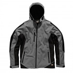 JW7010 Two Tone Softshell Jacket Grey & Black