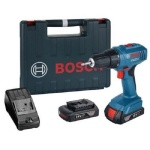 GSR1800-LI 18 Volt Cordless Drill Driver with 2 x 1.5 amp Batteries in carry case