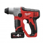 M12H-402 12 Volt Cordless  Sds Rotary Hammer Drill 2 x 4.0amp Batteries