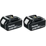 BL1850 5.0ah 18v Battery Twin Pack