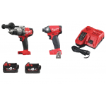 Drill Set 18v M18FPD & M18FID Combi & Impact Driver With 2 x 4.0Ah Batteries and Charger