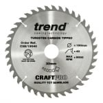 CSB/19040 Craft Pro Saw Blade 190MM X 40T X 30MM