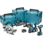 DLX3049PTJ Twin 18v 3 Piece Cordless Kit In Makpac