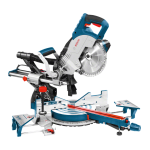 GCM8SJL Sliding Mitre Saw With Laser 240v