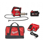M18GG-501B 18v Grease Gun With 1 x M18B5 Battery Charger and Bag