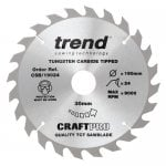 CSB/19024 Craft Pro Saw Blade 190MM X 24T X 30MM
