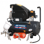 SAC2420EPK 24 Litre Compressor With 4 Piece Air Accessory Set