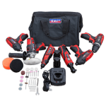 CP1200COMBO2 12v Cordless 6 Piece Tool Kit