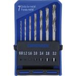 2615062832 7 Piece Precision Drill Bit Set 628