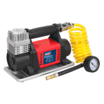 MAC04 Tyre Inflator/Mini Air Compressor 12V