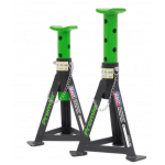 AS3G Axle Stands (Pair) 3 Tonne Each Green