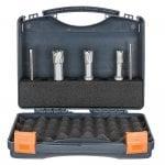 CarbideMax 40 TCT Broach Cutter Set 14,18,22m 2 Pilots