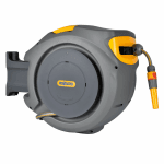 2403 30mtr Retractable Auto Reel With Hose Wall Mounted