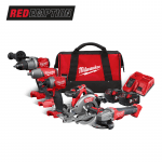 M18FPP5M-502B 18v 5 Piece Cordless Tool Kit In Carrying Bag