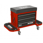 SCR18R Mechanics Utility Seat Red