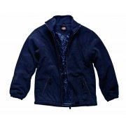 Navy Padded Fleece Jacket