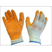Orange Coated Latex Glove
