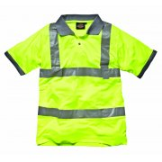 Hi Visibility Safety Polo Shirt Saturn Yellow