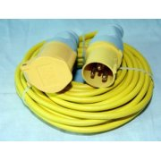 110 Volt Extension Leads 1.5mm thick cable 14mtr or 25mtr