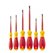 Softfinish Electric Screwdriver Set 6 Pce Slotted/Pozidriv