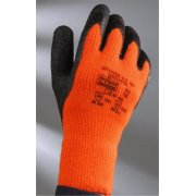 TNG Thermal Black / Orange Work Glove Size 9 Or 10