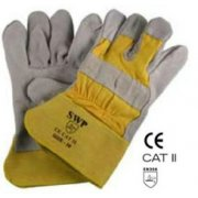 Yellow Power Rigger Work Gloves 1945
