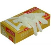 Disposable Latex Gloves Box 100 Large