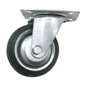 100mm Swivel Plate Castor Wheel 75kg 3512