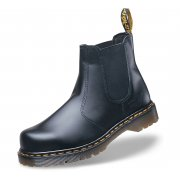 2028 Black Leather Dealer Boots