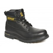 Holton black safety boots 7040