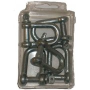 6mm dee shackle (6 pieces)
