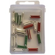 Assorted ceramic fuse 20 pieces