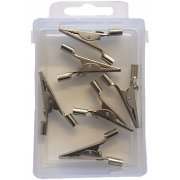 Crocodile clips 5amp pack of 6