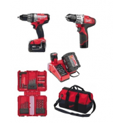 M18SET2B-31B package deal M18CPD percussion drill + C12DD drill driver