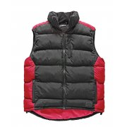BW7004 Red/Black Crayford Gilet Large Only