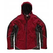 JW7010 Two Tone Softshell Jacket Red & Black