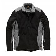 JW7011 Two Tone Micro Fleece Grey & Black