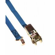 Ratchet load strap light duty 4mtr x 25mm 800kh hook
