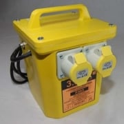 Portable Transformer 3.3KVA with Twin 110 volt Outlets