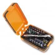 860/C27 25 Piece Screwdriver Set With Reversible Ratchet
