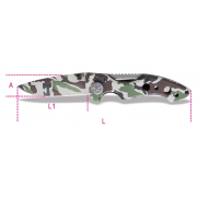1778CM Camoflage Foldaway Pocket Knife